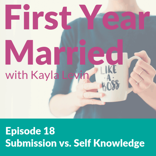 First Year Married Podcast Homepage | Kayla Levin